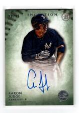 2015 Bowman Inception #PA-AJ Aaron Judge Green #/99 Prospect Auto RC / Yankees
