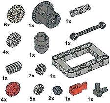 Lego Technic Gear Kit (mindstorms.ev3.frame.robot.car.transmission.differential)