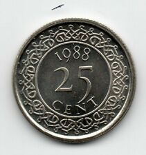 Suriname - 25 Cent 1988