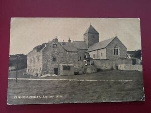 POSTCARD ANGLESEY -  PENMON PRIORY - EARLY 1900's.