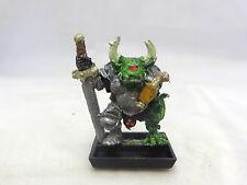 Warhammer Chaos Champion Nurgle  metal OOP rogue trader era