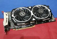 MSI AMD Radeon RX 580 Armor 4GB Graphics Card (RX 580 ARMOR 4G OC) FOR PARTS