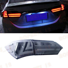 For Toyota Corolla 2014-2017 Smoked Black LED Taillight Rear Lamp Assembly