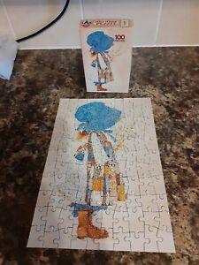 Vintage Holly Hobby Puzzle 100 Pieces No.5677 Arrow Games Ltd Complete - VGCndtn