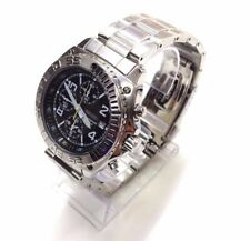 SEIKO Men's SNA617 Silver Stainless Steel Chronograph Quartz Dress Sport Watch