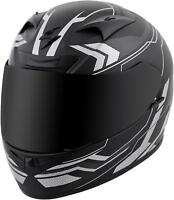 SCORPION EXO-R710 FULL-FACE TRANSECT HELMET SILVER 2X 71-4417
