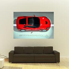 Chevy Corvette C7 Stingray LT1 Giant Poster Huge Print 54x36 Inches