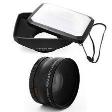58mm 16:9 Hood,Wide Angle Lens for Nikon AF-S DX 55-300mm f/4.5-5.6G ED VR