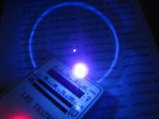 5mm 100pz LED UV ULTRAVIOLETTO 390-395nm FLAT HEAD 120°