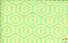 Amy Butler Midwest Modern Honeycomb in Aqua Fabric 1yd 100% Cotton