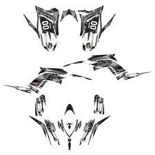 Raptor 700 R graphics Yamaha decal kit 2013 2014 2015 2016  #4444-Metal Tribal
