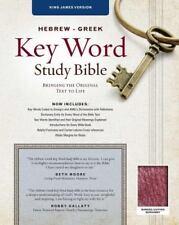 Key Word Study Bibles: Key Word Study Bible KJV : Bonded Burgundy (2008,...