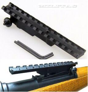 Mauser K98 Picatinny Weaverschiene Schiene Zielfernrohr Montage 13 Slot 135mm