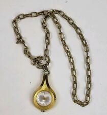 Pendant Necklace Watch Untested Vintage Webster 5th Avenue