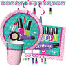 SPARKLE SPA! Birthday Party Range Make Up Nails Girl Tableware & Decorations{1C}