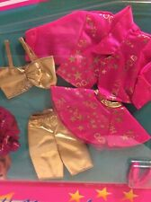 1992 barbie Doll fashion Hollywood hair pink gold glamour  #1997 NRFB