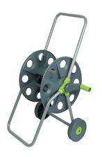 Dévidoir pour tuyau de jardin sur roues à équiper avec structure en metal