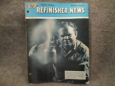 Du Pont Refinisher News March - April 1954 No. 101 Magazine Booklet Duco Dulux