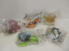 Lot of 5 McDonalds Happy Meal Disney Pixar 2003 Finding Nemo Characters NIP