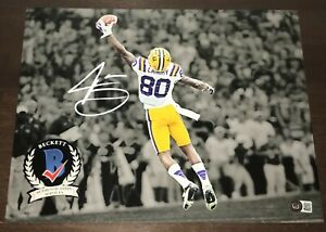 Jarvis Landry LSU Tigers Signed 11x14 Autographed Photo Beckett COA N1