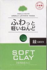 F/S 4 COLORS DAISO JAPAN DIY Soft Clay (Second) Arcilla Suave Lightweight