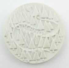 #e8356 Original alte Porzellan Medaille Oberhof
