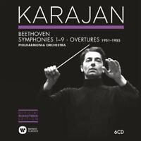 Herbert Von Karajan - Beethoven: Symphonies & Overtures 1951-19 (NEW 6 x CD SET)