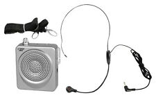 PYLE-PRO PWMA50S 50 Watts Portable Waist-Band Portable PA System with Headset