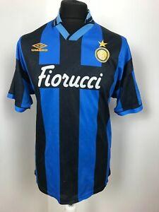 Internazionale Home football shirt 1992 - 1994 Size  SOCCER JERSEY CAMISETA