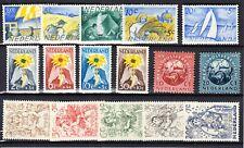 Nederland Jaargang 1949 zonder de langlopende serie postfris