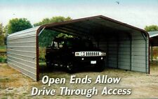 Carport Cover 18 x 21 x 6  with sides Priced for CA.  FREE DEL. & INSTALL.!
