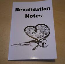 BUY 2 GET 1 FREE NMC Nursing Revalidation note book A5, Diary, Log Book