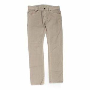 """DIESEL Men's Casual Pants size 32"""" Waist,  beige,  cotton,  good condition"""