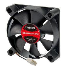 Evercool 60mm x 15mm Hi Speed Ball Bearing Long life Low noise Fan EC6015SH12BP