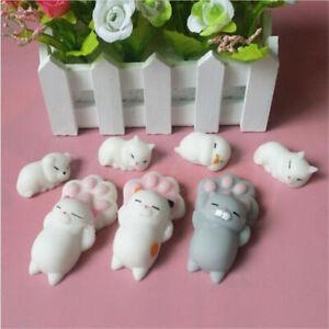 1pc Mochi Squishy Cat Claw Healing Toy Kawaii Soft Squeeze Abreact Fun Joke Gift