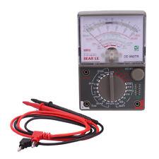 DE-960TR Analog Multimeter Voltmeter DC AC Voltage DC Current Meter Tester Lead