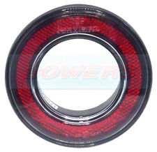 98mm ROUND RED REAR OUTER RING REFLECTOR SWIFT BESSACARR MOTORHOME KIT CAR
