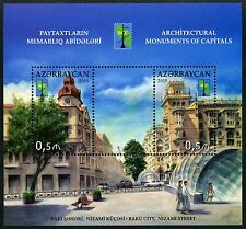 Aserbaidschan Azerbaijan 2015 Architektur Architecture Baku RSS Block 161 MNH