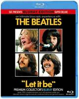 The Beatles Let It Be Sgt Presents label Premium 2017 Blu-Ray 2 Discs Case Set