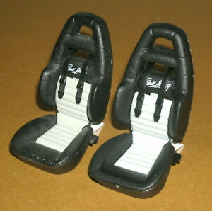 1/18 Scale Shelby Series One Plastic Front Racing Seats (2 pcs) Car Model Parts