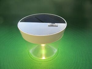 "Philips ""myGarden"" Solar Portable, LED Table Lamp."