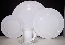 Rosenthal China Cupola White 5 Piece Place Setting Service for 1 Displayed Only