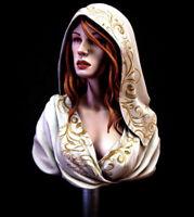 1/10 Female Bust Resin Figure Model Kit Unassambled Unpainted