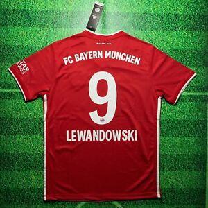 Lewandowski Bayern Munich 20/21 Home Jersey (1 Day Shipping)