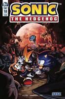 Sonic The Hedgehog #18 Cover B Sega IDW Comic 1st Print 2019 unread NM