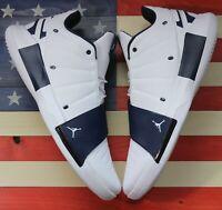 Nike Air Jordan CP3.xi Chris Paul Basketball Shoe White/Blue [BQ2673-141] sz 18