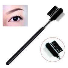 Eye Beauty Stainless Steel Metal Brush Eyebrow Dual-Comb Eyelash Extension