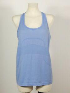 Lululemon Athletics women's blue swiftly tech racer back vest tank top size 10