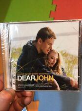 Dear John:Original Motion Picture Soundtrack OST CD 2010 New+Sealed Import Film