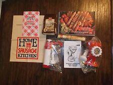 Vintage International Cook King Sausage Maker ~ Sausages Made Easy Complete Kit